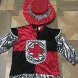 Новогодний костюм Рыцаря, Мушкетера на 5-8 лет