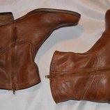 Ботинки кожа bollboxer р.39 40, ботинки шкіра черевики