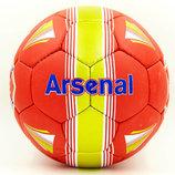 Мяч футбольный 5 гриппи Arsenal 6690 PVC, сшит вручную