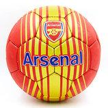 Мяч футбольный 5 гриппи Arsenal 6689 PVC, сшит вручную