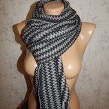шарф мужской меланжевый мягкий стильный модный