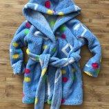 Тёплый халат 1,5-3 года
