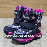 Зимние сапожки, р25,26 ботинки на девочку, термо,зима, черевички