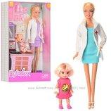 Лялька ,кукла DEFA лікар ,доктор коробка 8348