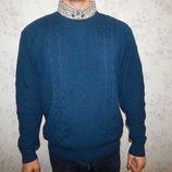 свитер с рубашкой-обманкой мужской стильный модный рXL