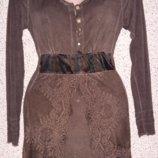 Стильная туника платье от бренда Elisa Cavaletti .Оригинал.Италия