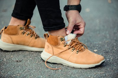 Ботинки-Кроссовки зимние мужские South Tactic yellow