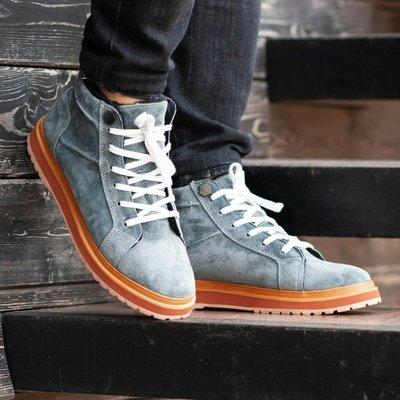 Ботинки зимние мужские South Navy dark grey