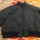 Болоневая куртка батал