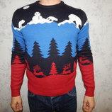 свитер мужской новогодний стильный модный рS