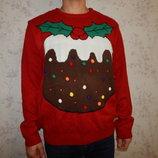 свитер мужской новогодний с подсветкой рXL