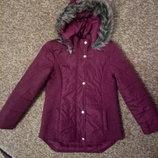 Стильная демисезонная курточка, р.11-12 лет