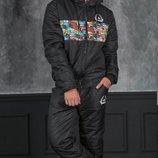 Мужской спортивный костюм на синтепоне RO-1151