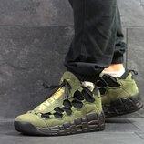 Nike Air Uptempo 96 кроссовки мужские темно зеленые 6715