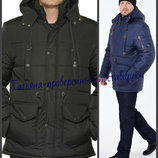 Мужская зимняя куртка с капюшоном, Мужская парка. Мужская куртка от производителя, большие