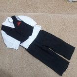 Фирменный костюм 6-12мес