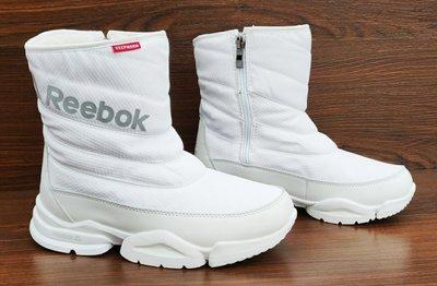 71497ac2cf5f Женские теплые белые зимние дутики Reebok . Топ качество Ааа. Previous Next