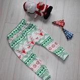 Новогодние штанишки ползунки на 1-2 года