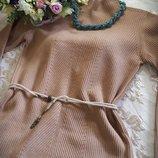 Актуальное теплое платье /туника / балахон BENETTON Италия 38-40