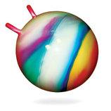 Резиновый Мяч для фитнеса 55 см с рожками 0211 Бамсик