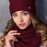 10 цветов Набор-Шкодная шапка-ушки шарф -хомут ,качество,Италия