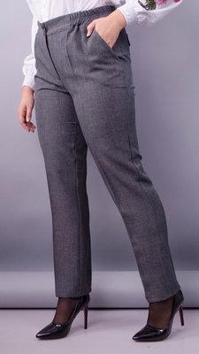 Класичні жіночі брюки. Колір сірий Матеріал габардин льон Розміри 52 ... cb4a4b896aad4