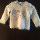 Теплый и мягкий свитер травка
