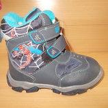 Ботинки зимние для мальчика р. 22-27