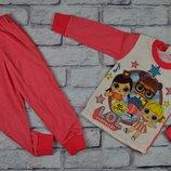 Пижама Лол начес,хлопок, от 2-х до 6-ти лет, 2 цвета, в наличии