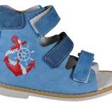 Ортопедические сандали высокие