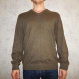 свитер мужской с налокотниками стильный модный рL