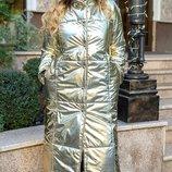 Теплое зимнее пальто пуховик куртка на синтепоне хит сезона хл размеры 50-54 скл.1 арт. 47277