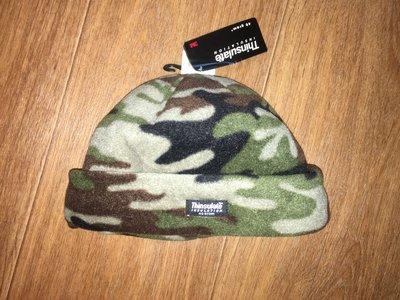 Флисовая камуфляжная шапка c Thinsulate, Ог 56-60