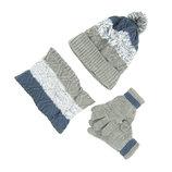 Комплект шапка, снуд, перчатки Детский 7-12 лет