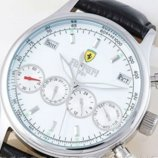 Часы наручные мужские Ferrari, белые