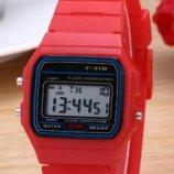Часы мужские Casio Classic retro red