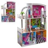 Домик для кукол 2012 деревянный игрушечный дом с мебелью
