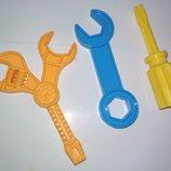 Запчасть деталь гаечный ключ отвертка инструмент инструменты игрушечный игрушка для мальчика