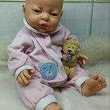 Кукла куколка лялька пупс реборн ароматизированный анатомический Испания D'Anton Jos.