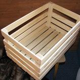 Деревянный ящик для разного декора