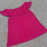 Нарядная блузочка с воланом f&f на девочку 8-9 лет