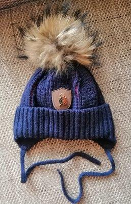 Очень классная зимняя шапочка фирмы Jamiks 50-52р Натуральный мех