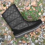 Дутики детские женские зимние ботиночки Pretty Style 36 размер