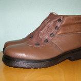Новые ботинки с металлической вставкой lupos 43 р.