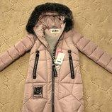 Зимнее пальто Kiko 4502 для девочек 146, 152, 158, 164