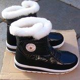 Зимние стильные сапожки