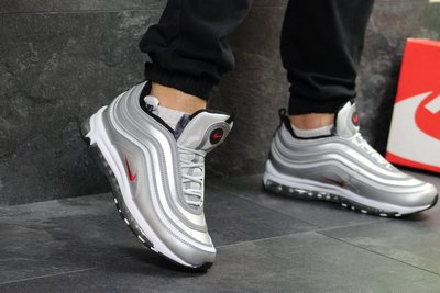 5d9c5ddb Зимние мужские кроссовки Nike Air Max 97 silver: 1150 грн - мужские ...