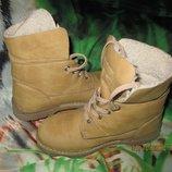Дешево Красивые стильные ботиночки 31 размер 19,8 см стелька