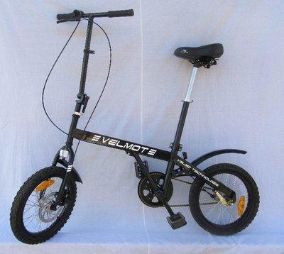 Велосипед VELMOT CityBike складной сталь, колесо 16