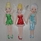Огромные фирменные мягко набивные куклы кукла принцесса дисней Disney фея Динь Динь Тинкер Белл